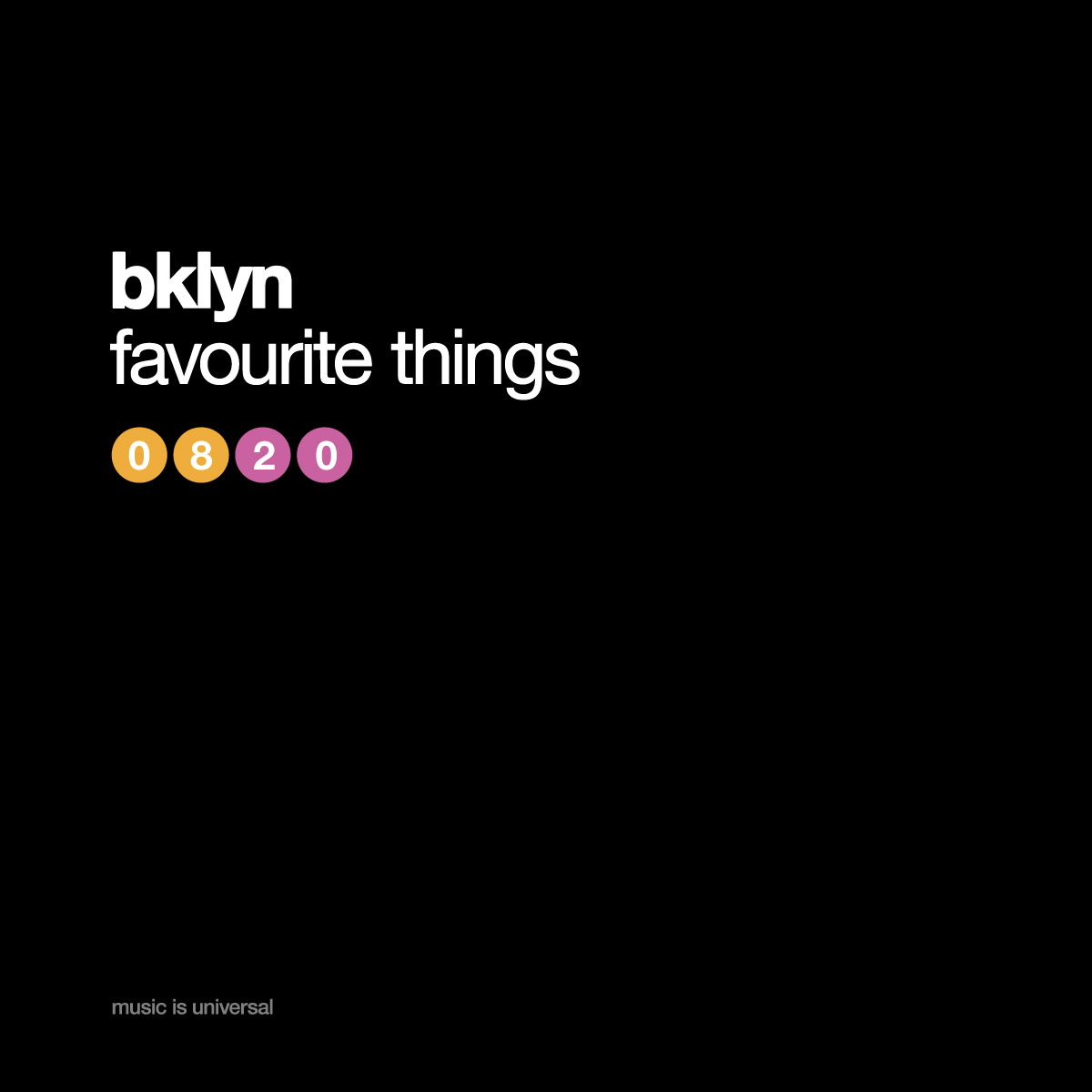 bklyn | favourite things 8.20