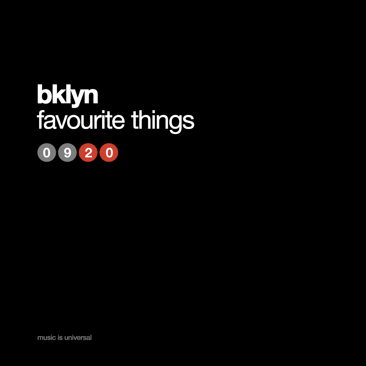 bklyn | favourite things 9.20