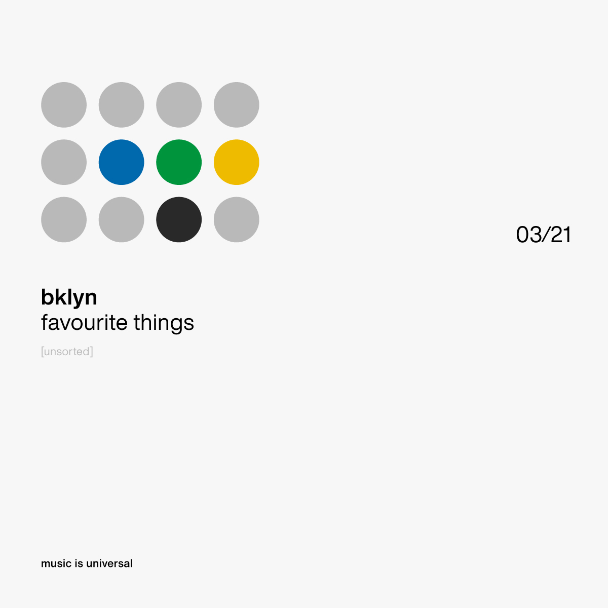 bklyn | favourite things 3.21