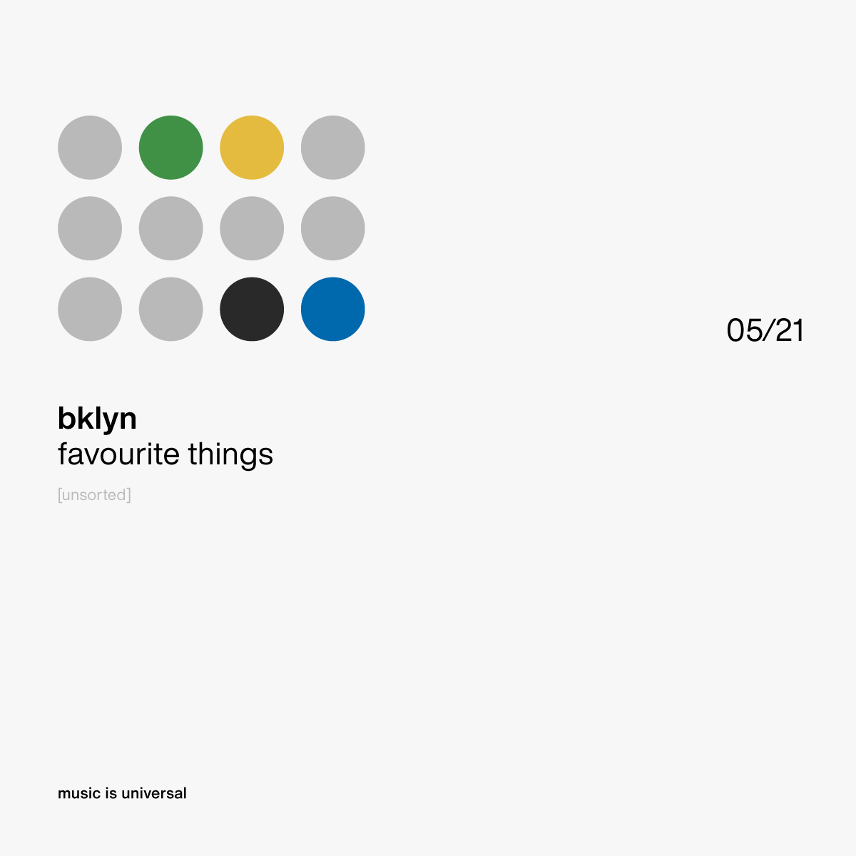 bklyn | favourite things 5.21