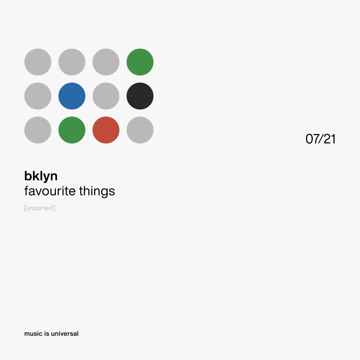 bklyn | favourite things 7.21