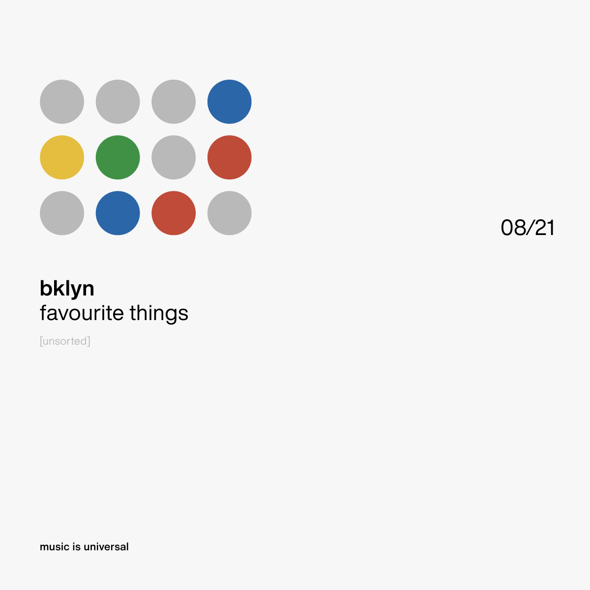 bklyn | favourite things 8.21