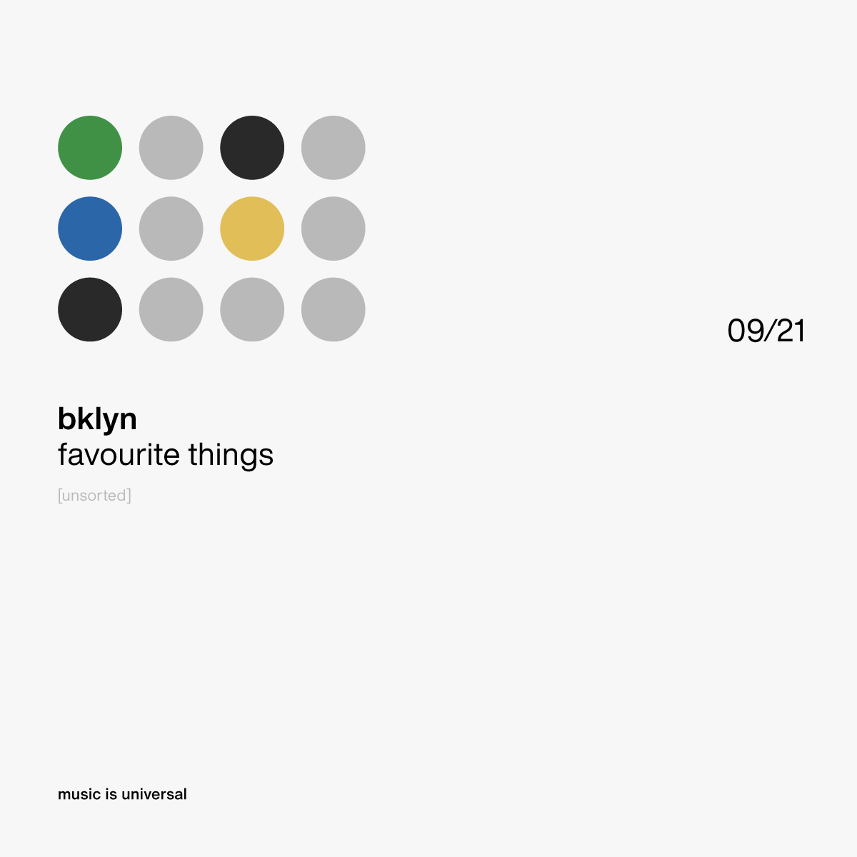 bklyn | favourite things 9.21